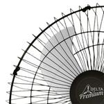 Ventilador Parede 60cm Preto Bivolt Premium Venti Delta