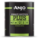 Esmalte Sintético Plus Fosco 0,9L Preto - Anjo