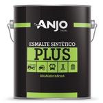 Esmalte Sintético Plus Fosco 3,6L Preto - Anjo