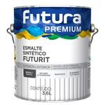 Esmalte Sintético Branco + Branco Brilhante 3,6L - Futura