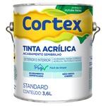 Tinta Acrílica Standard Cortex Semibrilho 3,6L Branco - Futura