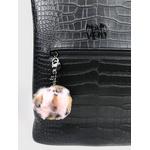 Pom-Pom Charm Animal Print
