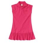 Vestido Polo Infantil De Menina Verão Rosa