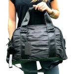 Bolsa Feminina Blogueira Esportiva De Mão Com Chaveiro