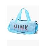 Mala Bolsa de Mão Sportiva Pink Azul Claro