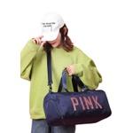 Mala Bolsa de Mão Sportiva Pink Azul