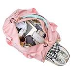 Mala Bolsa de Mão Sportiva Pink Rosa Claro
