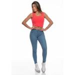 Calça Jeans Clara Feminina Cintura Alta