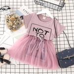 Vestido Camisetão Rosa