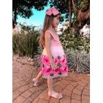 Vestido Princess Flowers