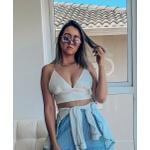 Cropped Branco Style Detalhe Blogueirinha