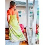 Vestido Garota De Ipanema Longo Com Fendas