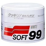 Cera De Carnaúba Limpadora 350g Para Carro Branco - White - Soft99 - 416