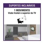 "Suporte P/ TV LCD/LED 10-55"" SBRP110 - BRASFORMA"