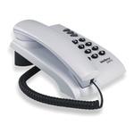 Telefone Pleno Cinza Ártico 0055 - INTELBRAS