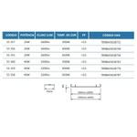 Luminaria Led Flat Linear 60cm 18/20W Biv 6500J - JNG