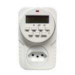 Timer Digital DNI6610/KW-610D com Bateria Interna