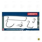 Acessórios De Banheiro 5 Pçs 2000 C27 Lorenflex - LORENZETTI