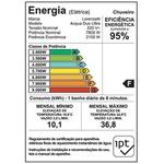 Chuveiro Acqua Duo Branco/Cromado ou Preto/Cromado 220V - LORENZETTI