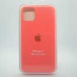 CAPINHA ROSA CHICLETE IPHONE 11 - SILICONE
