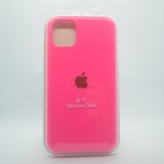 CAPINHA ROSA PINK IPHONE 11 - SILICONE