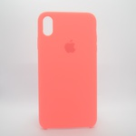 CAPINHA ROSA CHICLETE IPHONE XS MAX - SILICONE