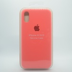 CAPINHA ROSA CHICLETE IPHONE X / XS - SILICONE