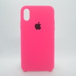CAPINHA ROSA PINK IPHONE X / XS - SILICONE