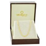 Corrente Cartier de Ouro 18K 60cm Fina