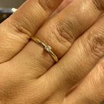 Anel Solitário Cartier Ouro 18k Zircônia de 3mm