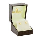 Brinco de Ouro 18K Cartier com Zircônia