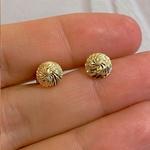 Brinco em Ouro 18K Círculo Diamantado