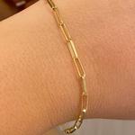 Pulseira Cartier Elos Ovais de Ouro 18K 21cm