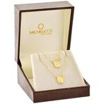 Escapulário de Ouro 18K Cartier 45cm Placas Pequenas