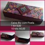KITS DE CARTONAGEM PARA CAIXA BIS C/ FECHAMENTO FIVELA - 10 KITS