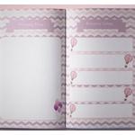 Kit para Álbum do Bebê Rosa