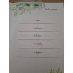 KIT DE ENCADERNAÇÃO PARA Caderno de Oração