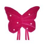 Asa borboleta veludo Pink