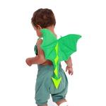 asa dragão baby verde