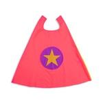 Capa heroi estrela rosa e roxo