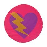 Escudo coração roxo
