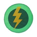 Escudo raio verde