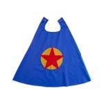 Capa heroi estrela azul e amarelo