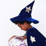 Capa mago Azul