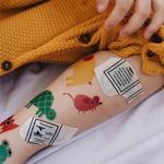 Tattoo Temporária Animais rato