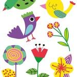 Tattoo Temporária Pássaros