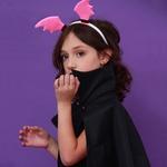 Tiara morcego Pink
