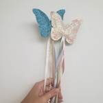 Varinha borboleta azul