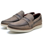 Loafer Lord Byron Casual Cor: Fossil Capucino