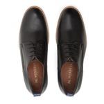 Sapato Casual Derby Masculino Gregory Preto
